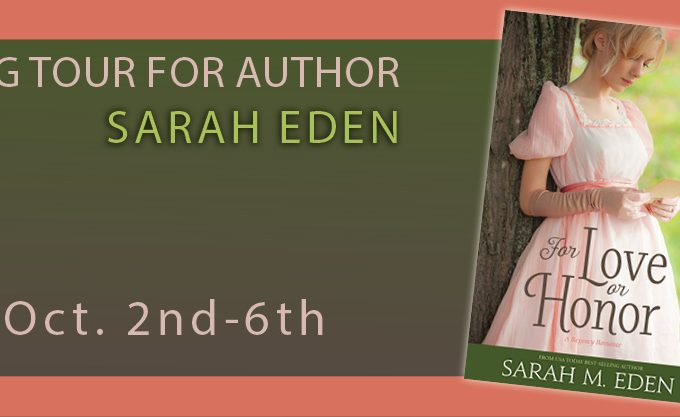 For Love or Honor by Sarah Eden {Book Review}