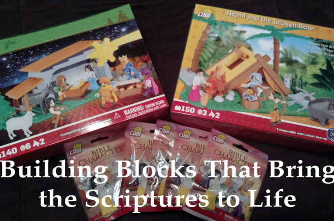 Building Blocks That Bring the Scriptures to Life by Our Picnic Tree
