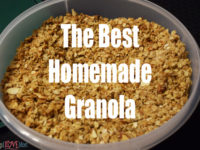 The Best Homemade Granola
