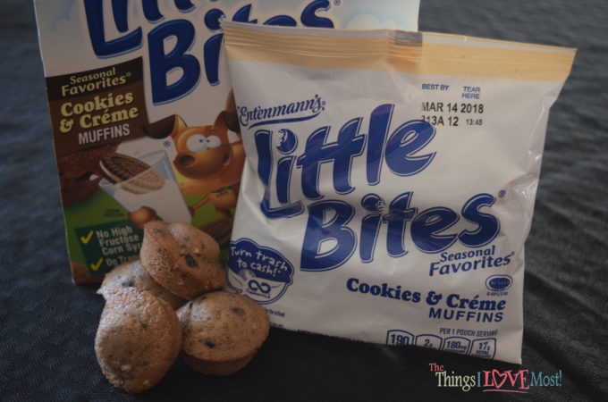 A Great Snack – Entenmann's® Little Bites® Cookies & Crème Muffins