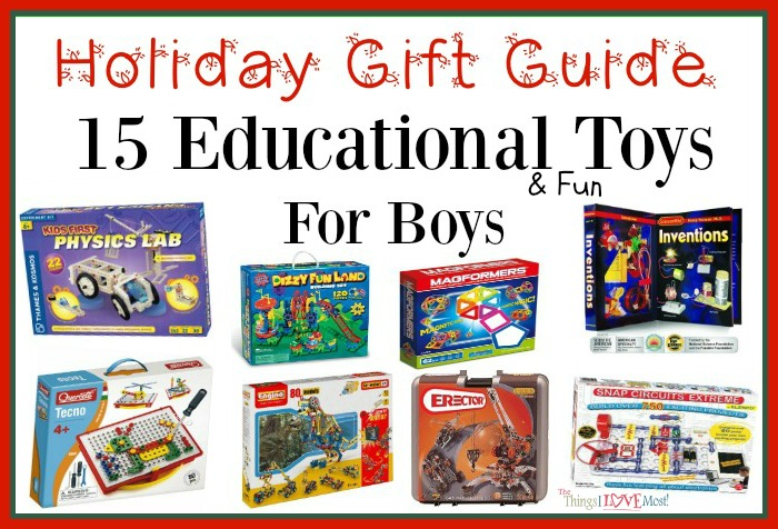 Educational Toys For Boys - Holiday Gift Guide - The ...